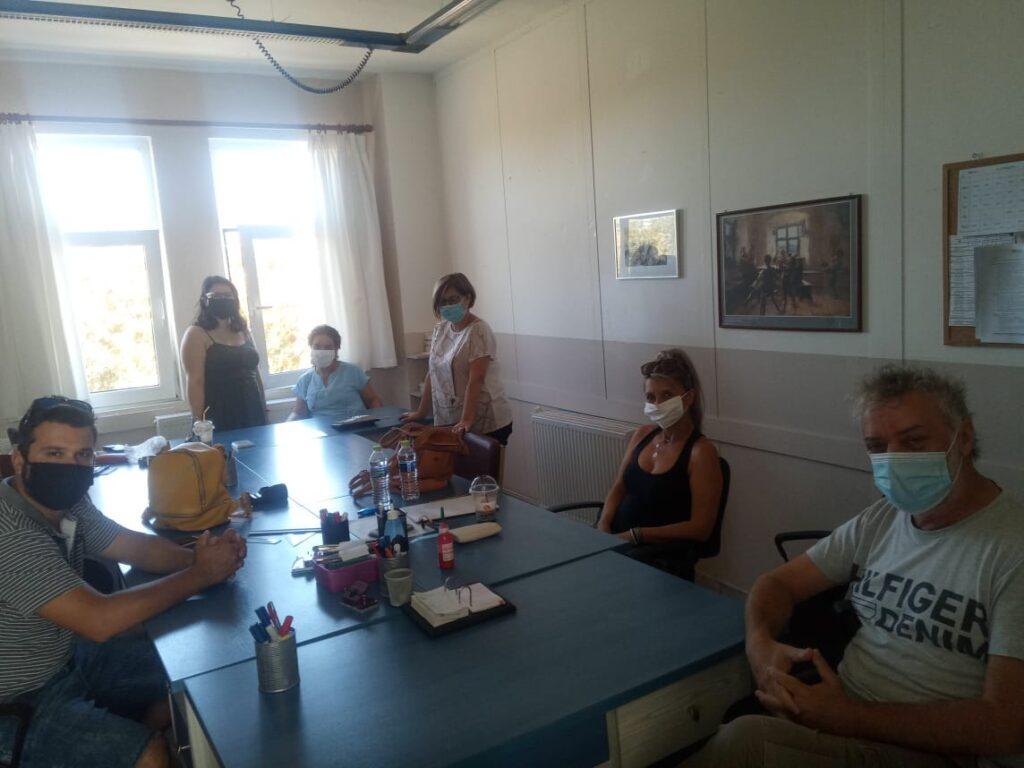 Σχολικές μονάδες του δήμου επισκέφθηκε η Αυτόνομη Κίνηση Πολιτών